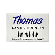 Thomas Family Reunion Rectangle Magnet