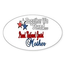 National Guard Mommy Oval Decal