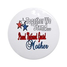 National Guard Mommy Ornament (Round)