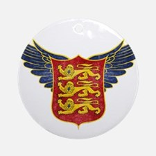 Royal Arms of England Ornament (Round)