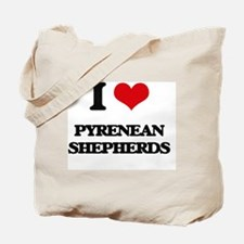 Cute Pyrenean shepherd Tote Bag