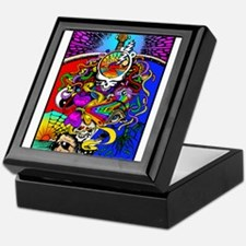 Psychedelic Doodle Keepsake Box