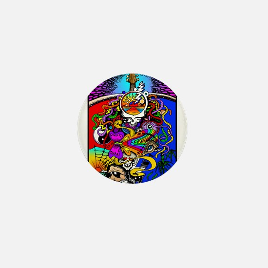 Psychedelic Doodle Mini Button (100 pack)