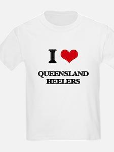 I love Queensland Heelers T-Shirt