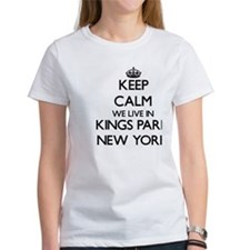 Keep calm we live in Kings Park New York T-Shirt
