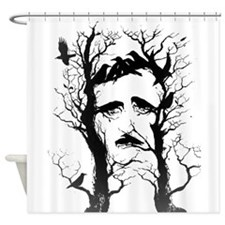 Edgar Allen Poe Shower Curtain