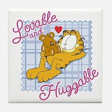 Lovable & Huggable Tile Coaster