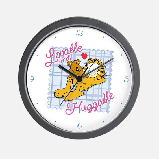 Lovable & Huggable Wall Clock