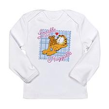 Lovable & Huggable Long Sleeve Infant T-Shirt