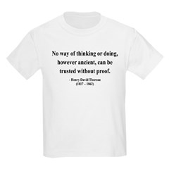 Henry David Thoreau 8 T-Shirt