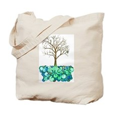Lively Tree Tote Bag
