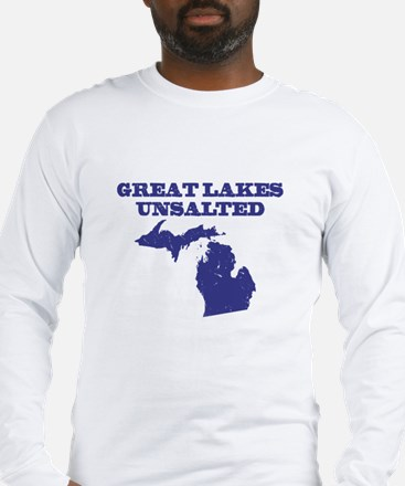 Great Lakes Unsalted Long Sleeve T-Shirt