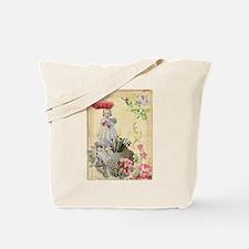 Pincushion and porcelain doll Tote Bag