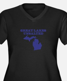 Great Lakes Unsalted Plus Size T-Shirt
