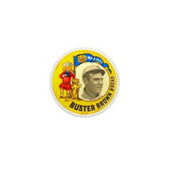 Buster Brown Bread #1 Mini Button (10 pack)