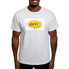 Biff: Ash Grey T-Shirt