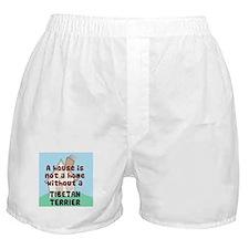 Tibetan Terrier Home Boxer Shorts