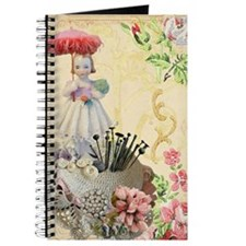 Pincushion and porcelain doll Journal