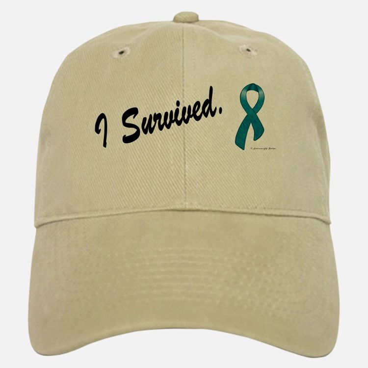 I Survived Ovarian Cancer Baseball Baseball Cap