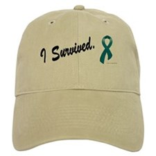 I Survived Ovarian Cancer Baseball Cap