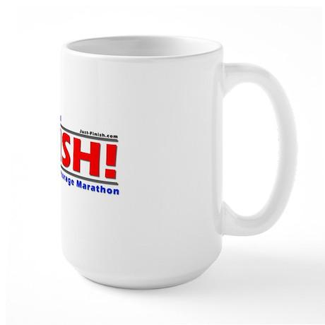 FINISH! Anchorage Marathon Large Mug