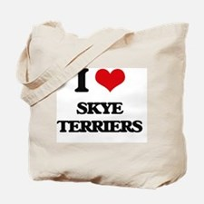 I love Skye Terriers Tote Bag