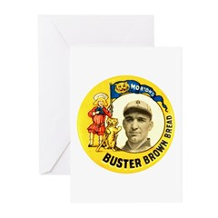 Buster Brown Bread #2 Greeting Cards (Pk of 10