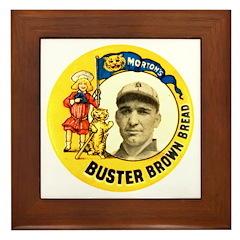 Buster Brown Bread #2 Framed Tile