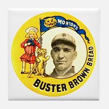 Buster Brown Bread #2 Tile Coaster