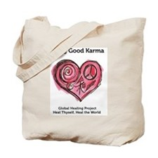 Being Good Karma Tote Bag