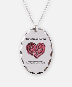 Being Good Karma Necklace