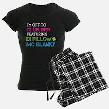 Club Bed Pajamas
