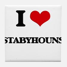 I love Stabyhouns Tile Coaster