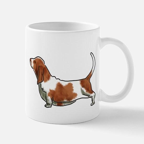bassett hound Mugs