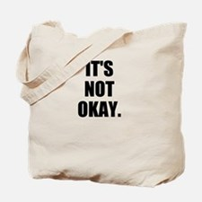 Sexual assault must stop Tote Bag