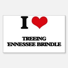 I love Treeing Tennessee Brindles Decal