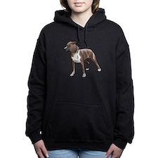 american staffordshire terrier Women's Hooded Swea