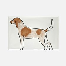 american english coonhound Magnets