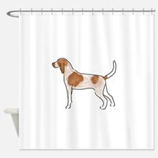 american english coonhound Shower Curtain