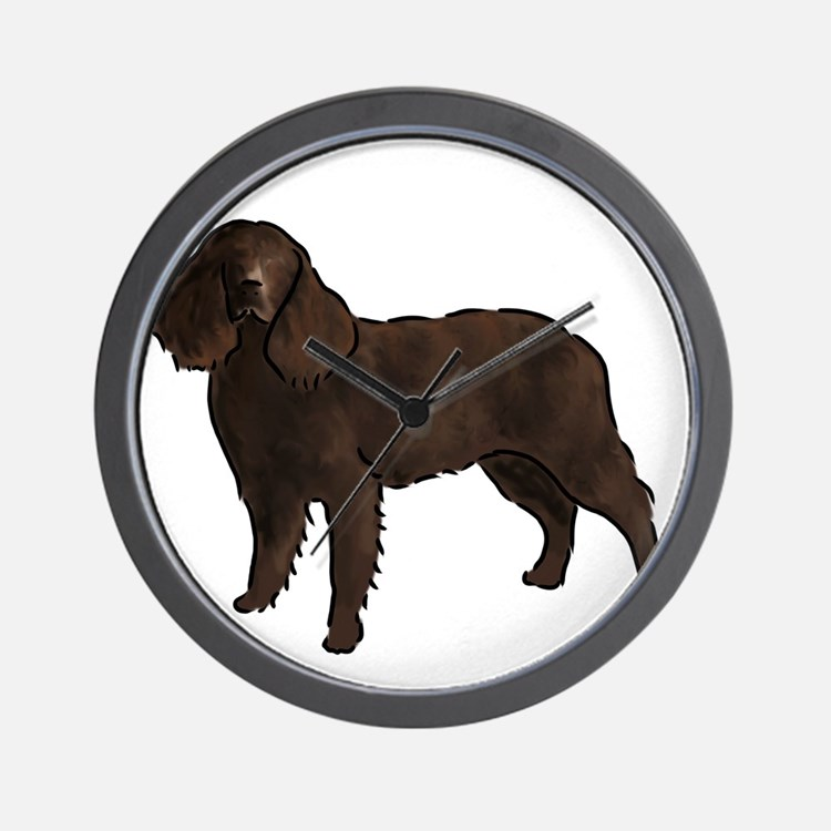 american water spaniel Wall Clock