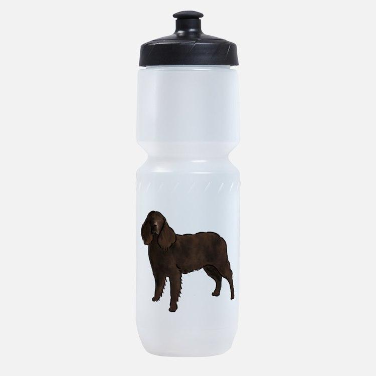 american water spaniel Sports Bottle