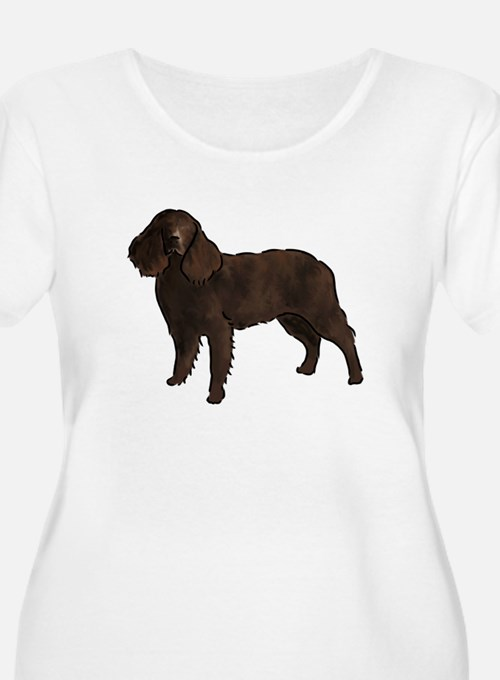 american water spaniel Plus Size T-Shirt