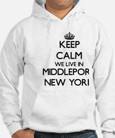 Keep calm we live in Middleport Hoodie