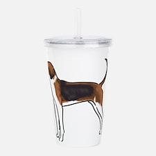 american foxhound Acrylic Double-wall Tumbler