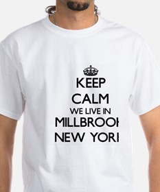 Keep calm we live in Millbrook New York T-Shirt