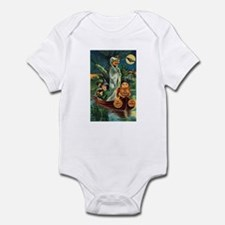 Halloween Boat Ride Infant Bodysuit
