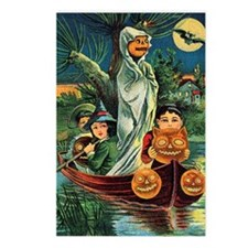 Halloween Boat Ride Postcards (Package of 8)