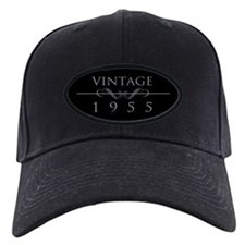 Vintage 1955 Birth Year Baseball Cap