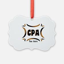 CPA Tax Guru Ornament