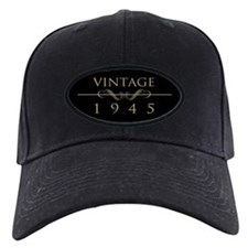 Vintage 1945 Birth Year Baseball Hat